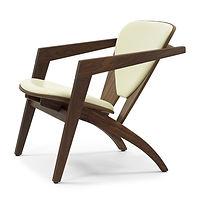 Getama model GE460 Butterfly stol valnød olie - tegnet af Hans J. Wegner