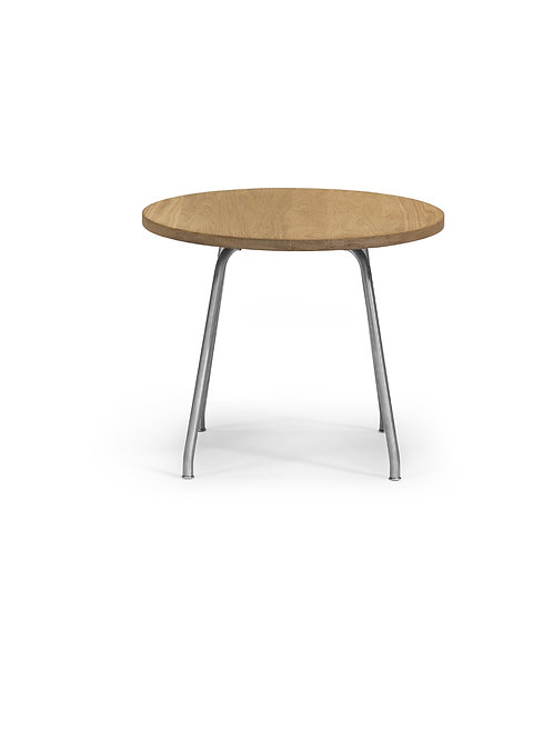CH415 | sofabord | eg sæbe - børstet stål stel