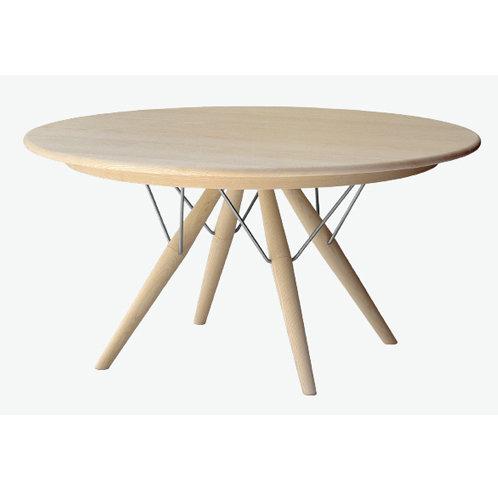 Hans J. Wegner PP75 | Spisebord Ø120 cm | eg sæbe