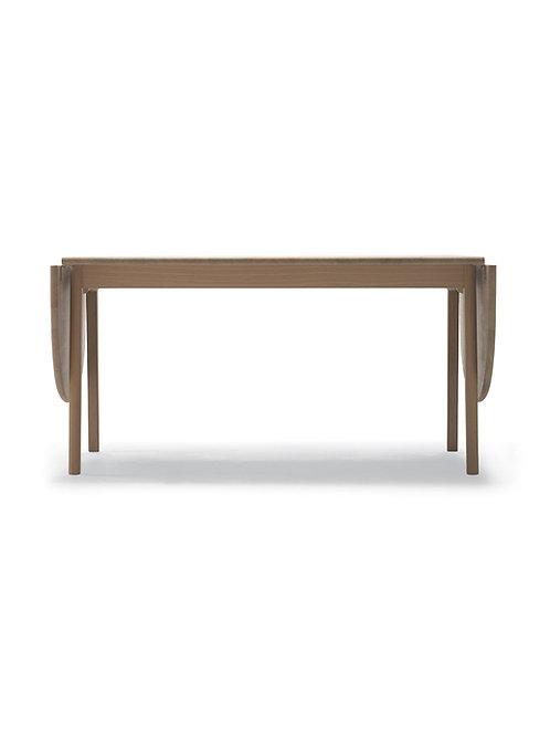 CH006 | spisebord eg sæbe med 2 klapplader | 90x138 (236) cm