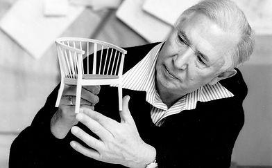 Hans J. Wegner - et ikon indenfor dansk møbeldesign - født i Tønder