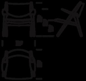 CH28 Loungestol mål