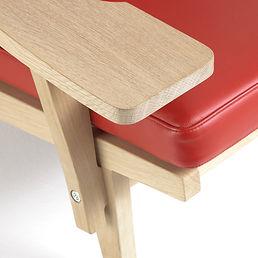 Getama model GE375 stol - tegnet af Hans J. Wegner