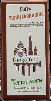 Schokolade 37%-Weltladen (neue Groesse).