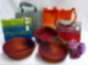 Filztaschen auf Tisch 2.JPG