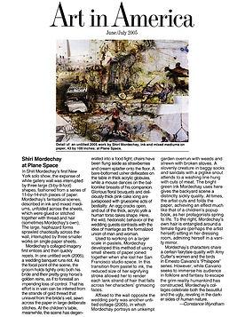 Art in America Article (jun-july 2005).j