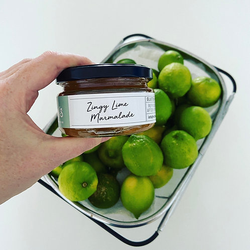 Zingy Lime Marmalade