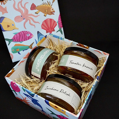 Three Condiment Gift Box