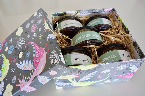 Five Condiment Gift Box
