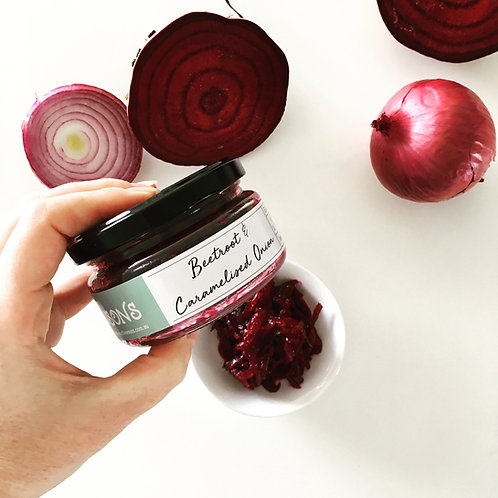 Beetroot & Caramelised Onion Relish