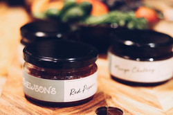 red pepper jam jar