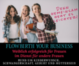 Flowbirth your Business 800x800  px - Fa