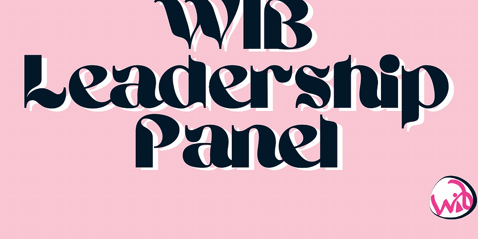 Member Meeting: WIB Leadership Panel