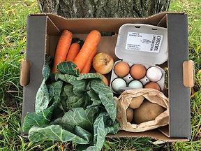 Baby veg box