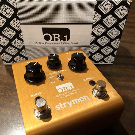 Strymon OB.1 Bass Edition Compressor Review