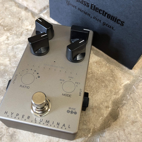 Darkglass Hyper Luminal Compressor Review