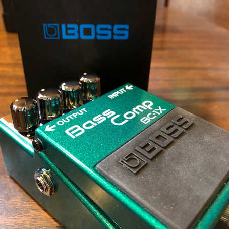 Boss BC-1X Bass Compressor Review