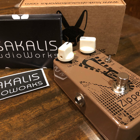 Tsakalis Audio Works Zipper MKII Compressor Review