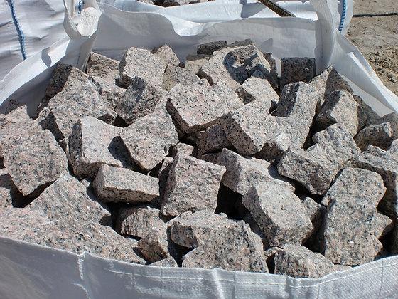 1 Sac pavé granit rose - environ 12.5m2
