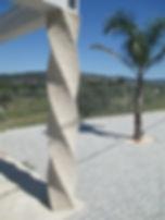Coluna em granito