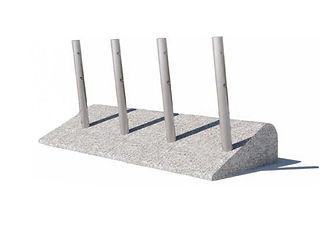 Objet urbain en granit