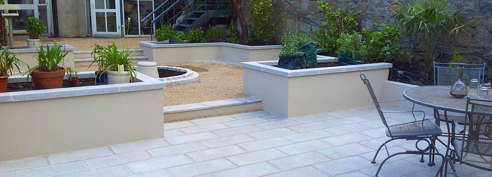 Terrasse en dalle granit