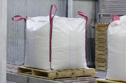 big bag de 1000kg sur euro-palette