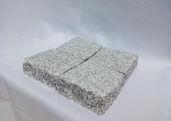 Palette pavé granit gris claire scié sablé - 10m2