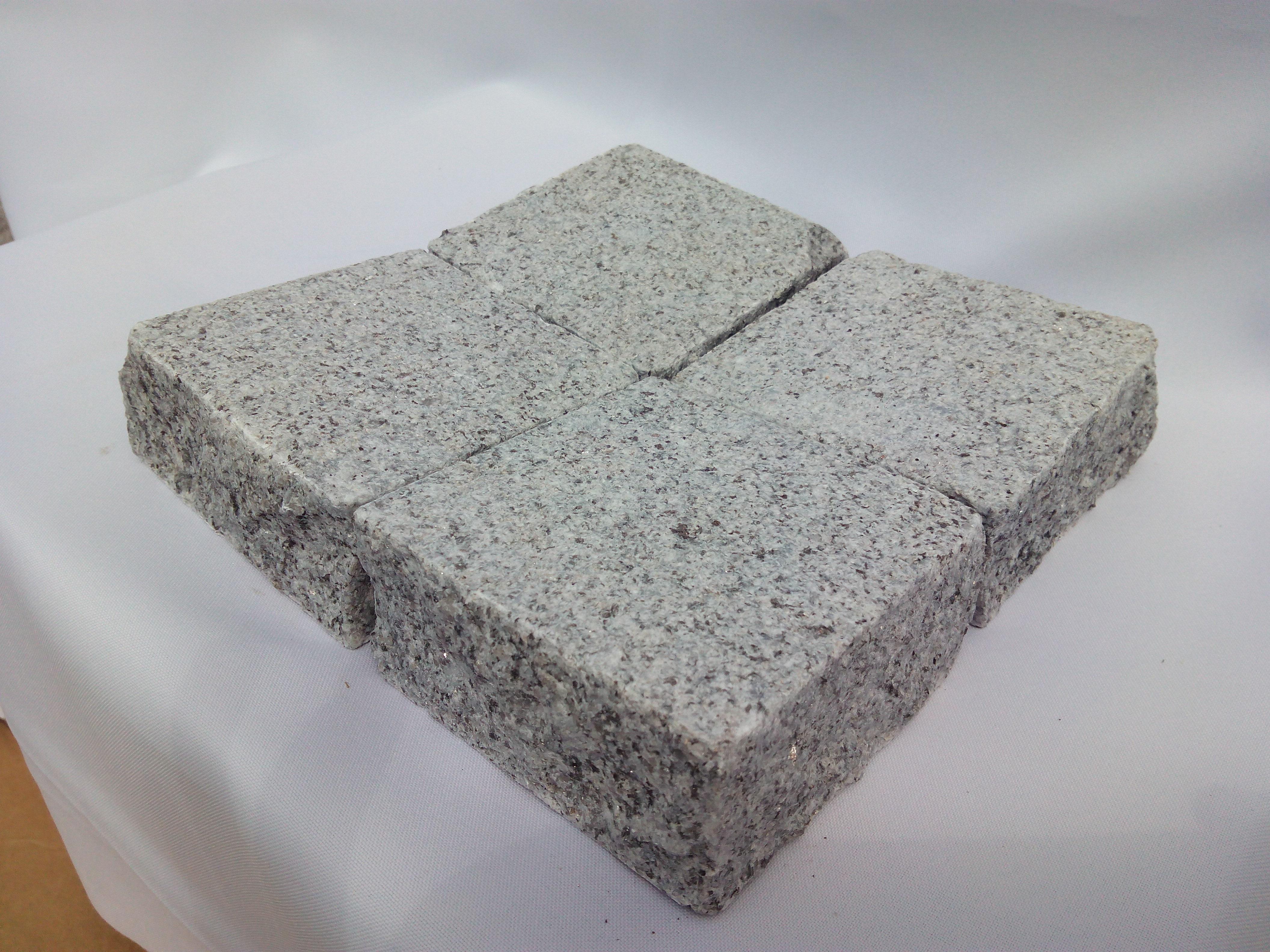 Pavé granit gris