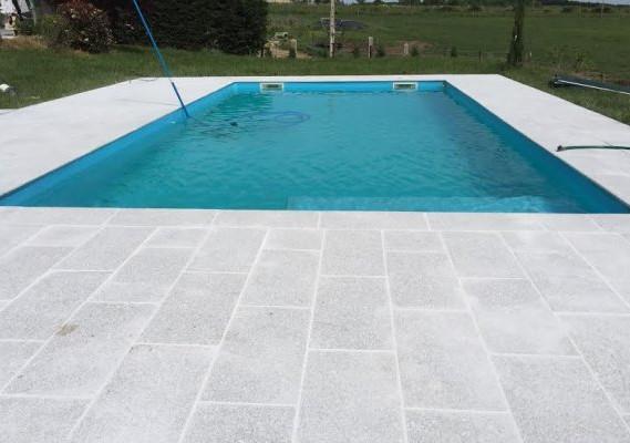 Dallage de piscine