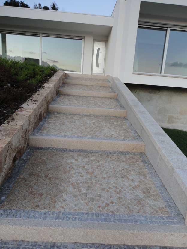 Flooring and coating in granite