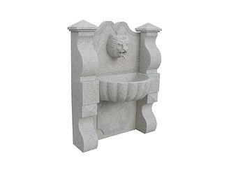 Fontaine en granit