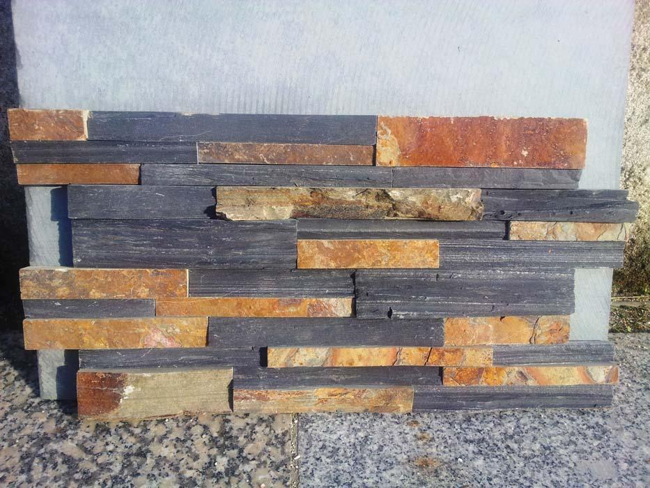 Xisto-Multicolor-e-ardósia-preta-Painel-mix-55x15x2-3-Ref.54