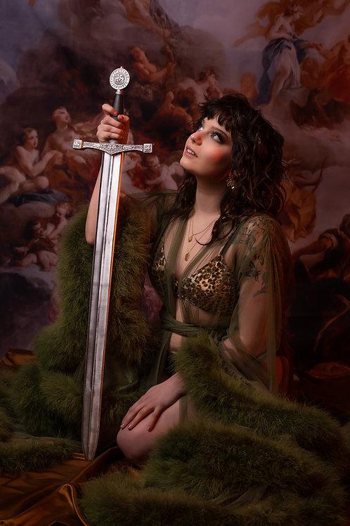 11x14 Print : Sigrid & Sword