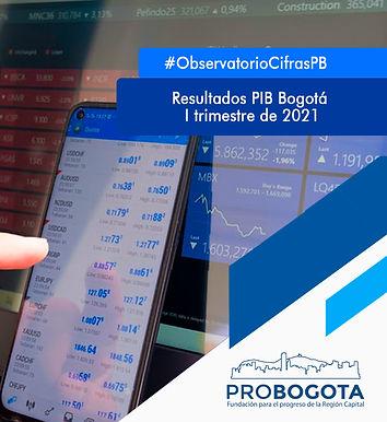 Results Bogota GDP – 2021 Quarter I