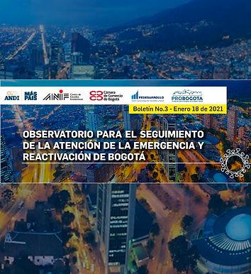 Observatorio para el seguimiento de la atención de la emergencia y reactivación de Bogotá