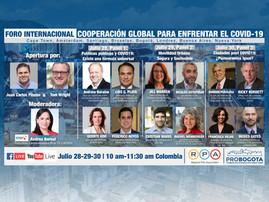 Resumen Gran Foro Cooperación global para enfrentar el Covid-19