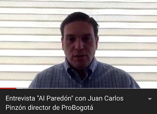 """Entrevista """"Al Paredón"""" con Juan Carlos Pinzón director de ProBogotá"""