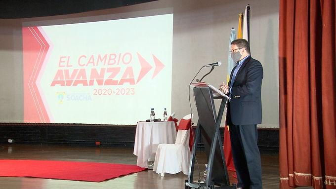 Soacha es una ciudad estratégica para la región y el país: Juan Carlos Pinzón