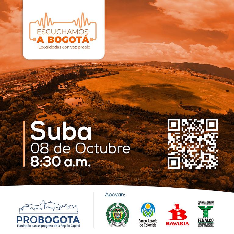 Escuchamos a Bogotá: Suba
