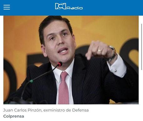 Juan Carlos Pinzón, preocupado porque Claudia López controvierte cada medida del Gobierno