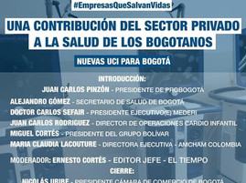 #ForosProBogota | Una contribución del sector privado a la salud de los bogotanos