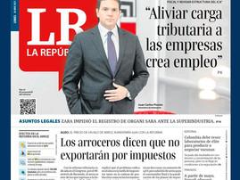 """""""Aliviar carga tributaria a las empresas genera empleo"""""""