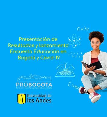 Resultados de la encuesta 'Educación en Bogotá y Covid-19'