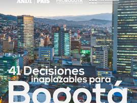 41 decisiones inaplazables para Bogotá