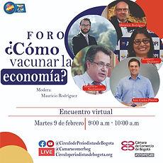 Foro del Circulo de Periodistas de Bogotá