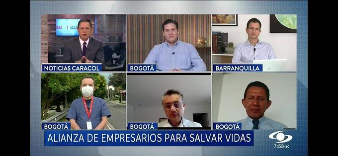 Alianza de empresarios para salvar vidas: iniciativa que apoya la lucha contra el COVID-19 en Bogotá