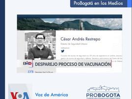 Esquema de Vacunación en Colombia: Voz de América