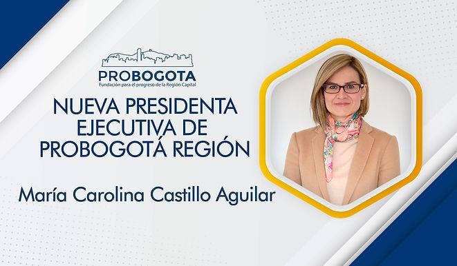 NUEVA PRESIDENTA DE PROBOGOTÁ REGIÓN