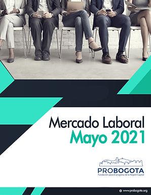 Resumen cifras mercado laboral Mayo 2021